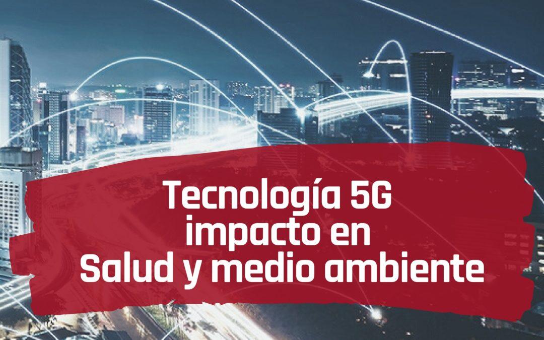 HITZALDIA:  Tecnología  5G,  impacto  en  salud  y  medio  ambiente.